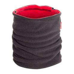 Komin wielofunkcyjny Lahti PRO L1030700 z polarem czapka szalik ciepły ocieplany polarowy na zime wiosne jesień mocny elastyczny czarny czerwony