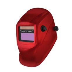 PRZYŁBICA SPAWALNICZA SAMOŚCIEMNIAJĄCA JEDNOZAKRESOWA CZARNA LAHTI PRO L1540600 maska dla spawacza spawalnicza pełna samościemniająca automatyczna regulowana z nagłowiem czarna mocna na pokrętło z wymienną szybką 9-13 din