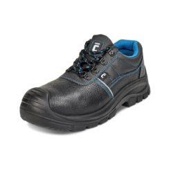 Półbuty Ochronne Cerva RAVEN XT Low buty robocze do pracy ochronne bezpieczne z podnoskiem z blachą z wkładką antyprzebiciową skórkowe mocne tanie sznurowane nadlane antypoślizgowe