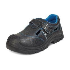 Sandały Ochronne Cerva RAVEN XT Low s1p buty robocze do pracy ochronne bezpieczne z podnoskiem z blachą z wkładką antyprzebiciową skórkowe mocne tanie sznurowane nadlane antypoślizgowe