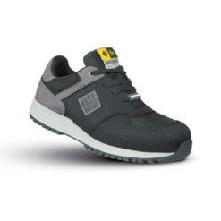Półbuty Ochronne To Work For URBAN ESD S3 SRC obuwie bezpieczne do pracy robocze sneakersy z blachą podnosek aluminiowy wkładka antyprzebiciowe kevlar mikrofibra czarne szare sklep bhp