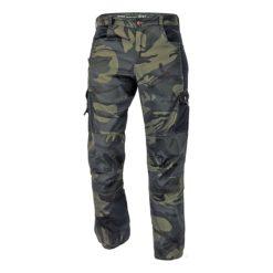 Spodnie robocze Cerva Crambe CRV Moro spodnie w pas mocne moro maskujące do pracy robocze ochronne do pracy twillowe lekkie zielone piaskowe brązowe