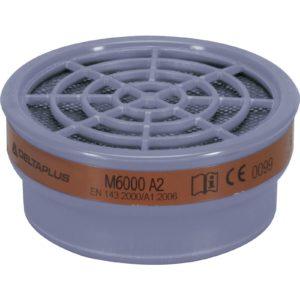 Pochłaniacze Delta Plus M6000E A2 Do Półmasek JUPITER filtry do masek środki ochrony drogi oddechowe opary gazy sklep bhp