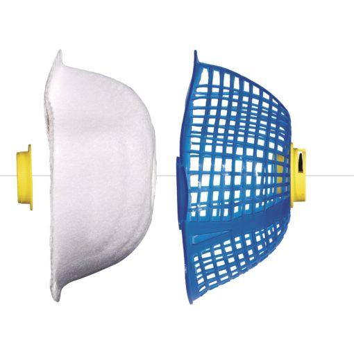 Półmaska filtrująca Delta Plus SPIDERMASK zawór maska bezpieczeństwa do filtrowania z zaworem wymienna wkład