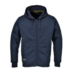 Bluza robocza Portwest KS31 z kapturem 2 kolory ciepła bluza ochronna do pracy ciuchy robocze mocna bluza na suwak zamek odzież robocza ochronna sklep bhp granatowa