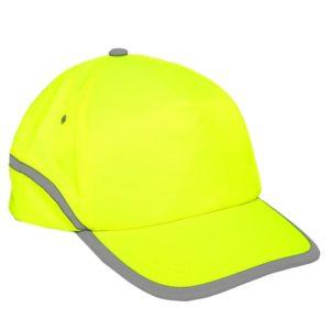 Czapka z Daszkiem Ostrzegawcza Lahti PRO L10102 Żółta bejsbolówka dla drogowców odblaskowa do pracy robocza ochronna bhp sklep