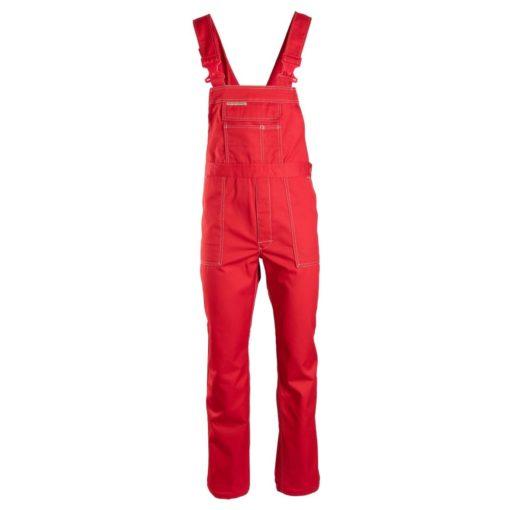 Ogrodniczki Robocze BRIXTON CLASSIC czerwone szwedy spodnie szwedzkie na szelkach z szelkami odzież ochronna robocza do pracy ciuchy robocze sklep bhp