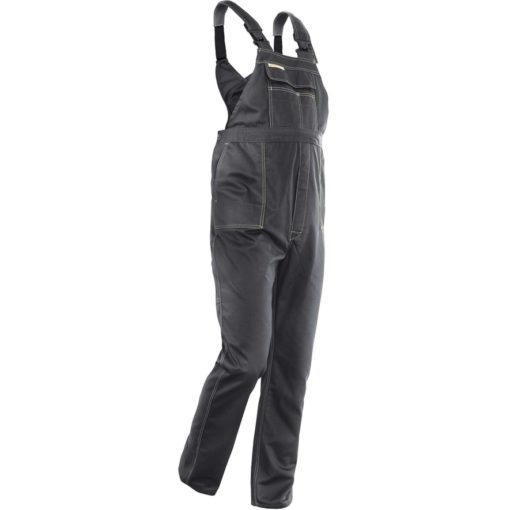 Ogrodniczki Robocze BRIXTON CLASSIC szare szwedy spodnie szwedzkie na szelkach z szelkami odzież ochronna robocza do pracy ciuchy robocze sklep bhp