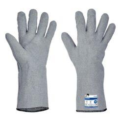 Rękawice Termiczne FH Sponsa termoodporne termiczne do gorącego wytrzymałe ciepłoodporne rękawice długie bhp sklep system internetowy termoizolacyjne szare