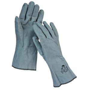 Rękawice Termiczne FH Sponsa do 250 stopni ciepłoodporne na wysoką temperaturę kontaktowe z dobrym chwytem termoizolacyjne do pracy ochronne robocze bhp szare