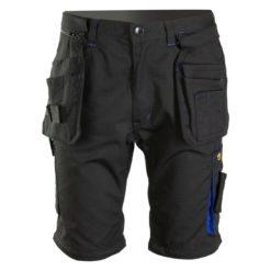 Szorty robocze Seven Kings Topaz bermudy spodnie krótkie spodenki do pracy monterskie letnie na ciepło na lato wytrzymałe odzież robocza bhp system z kieszeniami czarne grafitowe granatowe niebieskie