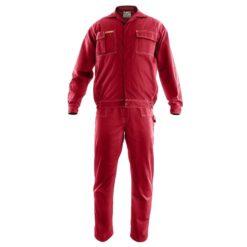Ubranie Robocze BRIXTON CLASSIC czerwone odzież ochronna robocza uniform do pracy bhp sklep dwuczęściowy przemysłowy ciuchy robocze polstar
