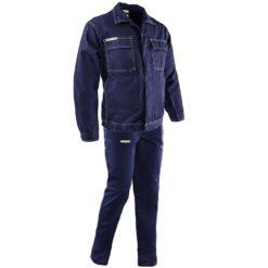 Ubranie Robocze BRIXTON CLASSIC granatowe odzież ochronna robocza uniform do pracy bhp sklep dwuczęściowy przemysłowy ciuchy robocze polstar