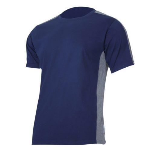 Koszulka T-shirt Lahti PRO L40229 granatowa szara podkoszulek do pracy ochronna oddychająca bawełniana tshirt sklep bhp czarny czerwony na krótki rękaw