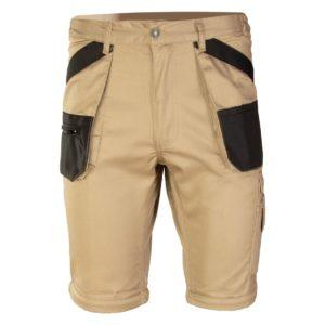 Spodenki Robocze Krótkie Brixton Practical szorty na lato spodnie do pracy ochronne bhp mocne beżowe khaki kremowe z kieszeniami brązowe sklep bhp ciuchy robocze