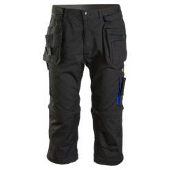Spodnie robocze 3/4 SEVEN KINGS Topaz do pracy ochronne bermudy spodenki krótkie spodnie za kolana 3/4 rybaczki dla budowlańców z kieszeniami mocne bhp czarne grafitowe niebieskie granatowe system bhp sklep internetowy