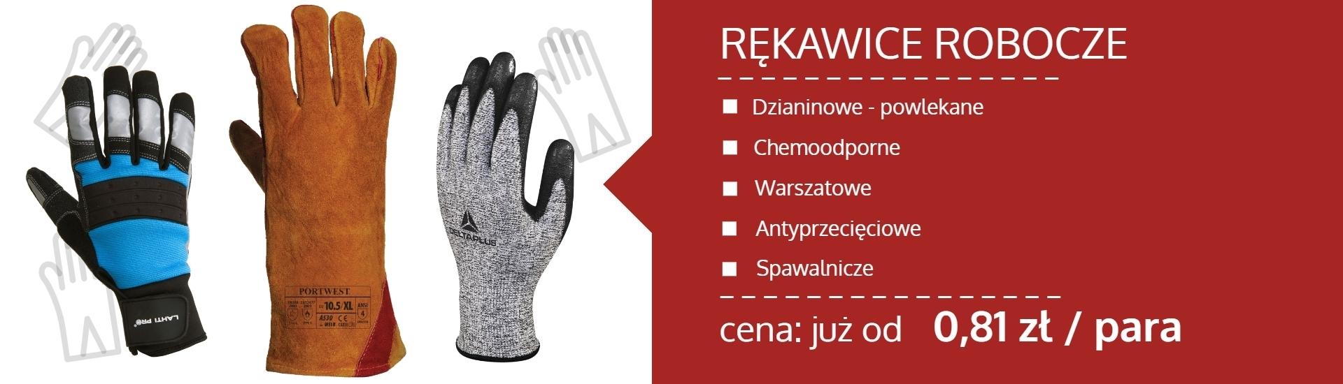 banner sklep bhp łochów internetowy odzież robocza rękawice robocze