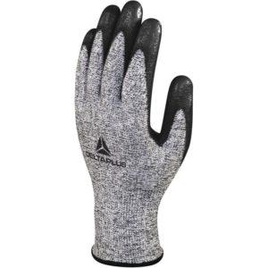 Rękawice antyprzecięciowe DELTA PLUS VENICUT57G3 odporne na przecięcie mocne wzmacniane rękawiczki robocze ochronne delta plus powlekane nitrylem bezpieczne do pracy sklep bhp wierzch