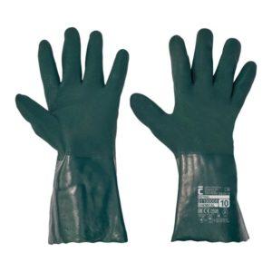 Rękawice chemoodporne CERVA PETREL 35 cm chemiczna do pracy z chemikaliami ochronne bezpieczne rękawiczki sklep bhp mocne powlekane antypoślizgowe
