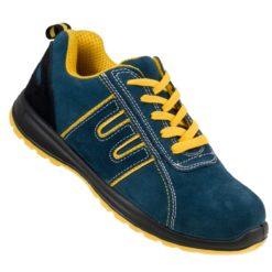 Buty Robocze URGENT 212 OB zawodowe obuwie bhp sklep turkusowe niebieskie żółte