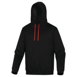 Bluza robocza DELTA PLUS LECCO 3 kolory do pracy ciepła z kapturem czarna czerwona bhp sklep panoply