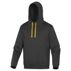 Bluza robocza DELTA PLUS LECCO 3 kolory do pracy ciepła z kapturem szara grafitowa żółta bhp sklep panoply