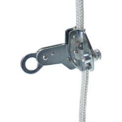 Odpinany uchwyt liny 12mm PORTWEST FP36 asekuracyjny do pracy na wysokości wysokościówka mocny stal nierdzewna metalowy zabezpieczenie przed upadkiem odzież ochronna bhp sklep