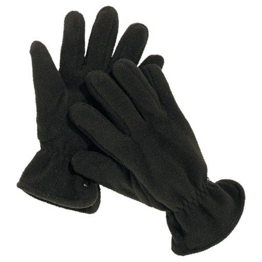 Rękawiczki polarowe DELTA PLUS NEVE ocieplane zimowe na zimę ciepłe do pracy robocze korporacyjne sklep bhp czarne