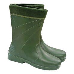 Kalosze Ocieplane Lemigo ALASKA Damskie gumowce gumiaki piankowe lekkie ciepłe na zimę zimowe wodoodporne z kołnierzem ocieplacz zielone dla kobie damskie sklep bhp system do pracy