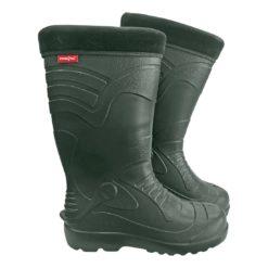 Buty Gumowe Kalosze Ocieplane REIS BRWORK gumowe buty do pracy obuwie zimowe na zimę gumiaki gumowce sklep bhp system zielone z kołnierzem