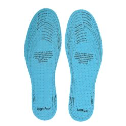 Wkładki do butów antybakteryjne PORTWEST FC86 ochronne przeciwzapachowe na śmierdzące stopy błękitne materiałowe lekkie białe sklep bhp system