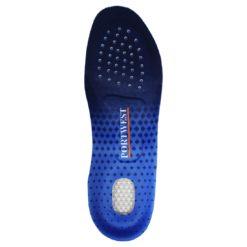 Wkładki do butów uniwersalne PORTWEST FC81 sportowe do butów lekkie elastyczne sprężyste amortyzujące komfortowe niebieskie czarne sklep bhp system