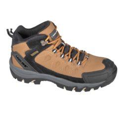 Buty robocze LAHTI PRO L30114 O2 bez podnoska skórzane skórkowe do pracy antypoślizgowe bez podnoska obuwie bhp bez podnoska do pracy dla pracowników beżowe brązowe czarne trzewiki