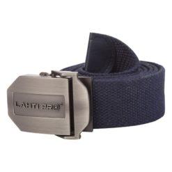 Pasek do spodni Lahti PRO L9020300 parciany zaciskany z zaciskiem z klamrą lahti roboczy automatyczny samozaciskowy sklep bhp system internetowy granatowy