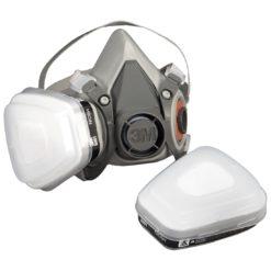 Półmaska Ochronna 3M 6000 Oddechowa do pracy ochronna maska środki ochrony indywidualnej drogi oddechowe sprzęt bhp sklep system do pracy lakiernicza przeciwgazowa lekka