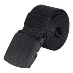 Pasek do spodni BELT-REIS B roboczych ochronnych z klamrą automatyczną elastyczny rozciągliwy parciany wygodny elegancki czarny raw pol