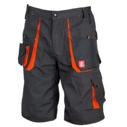 Spodenki robocze URG-a Beżowe do pracy ochronne spodnie bhp system sklep internetowy z kieszeniami na lato wygodne elastyczne bermudy odzież dla pracowników czarne pomarańczowe grafitowe
