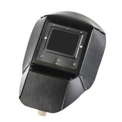 Tarcza spawalnicza lahti pro l1530200 czarna z preszpanu osłona spawalnicza maska spawalnicza z drewnianym uchwytem