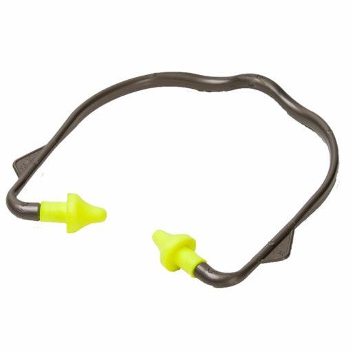 Zatyczki przeciwhałasowe na pałąku PORTWEST EP16 na kabłąku stopery do pracy ochronniki słuchu pchełki elastyczne z pianki piankowe środki ochrony indywidualnej bhp sklep system internetowy czarne żółte zielone