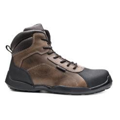 Buty robocze BASE RAFTING TOP B0610 S3 SRC trzewiki obuwie bezpieczne dla pracowników skórzane z podnoskiem noskiem wytrzymałe do pracy buty bhp sklep system internetowy brązowe czarne