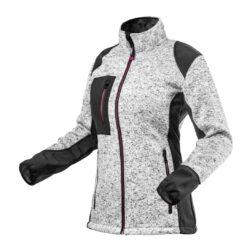 Bluza robocza damska NEO TOOLS 80-555 bluza do pracy ochronna ciepła damska dla kobiet softshell odzież ochronna bhp sklep system internetowy czarna szara różowa z kieszeniami na suwak