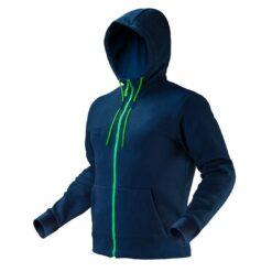 Bluza robocza NEO TOOLS 81-511 z kapturem do pracy odzież dla pracowników ciepła dwuwarstwowa ze ściągaczem odzież ochronna bhp sklep system internetowy granatowa zielona