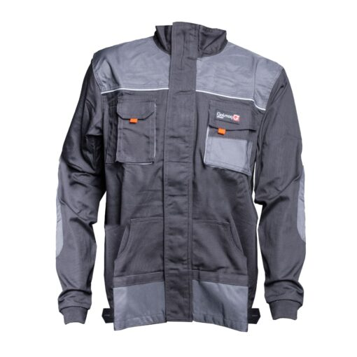 Bluza robocza GALMAG WH290A ochronna bhp dla pracowników wytrzymała z kieszeniami dziane mankiety plisa grafitowa bhp sklep system internetowy szara