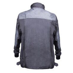 Bluza robocza GALMAG WH290A ochronna bhp dla pracowników wytrzymała z kieszeniami dziane mankiety plisa grafitowa bhp sklep system internetowy szara tył