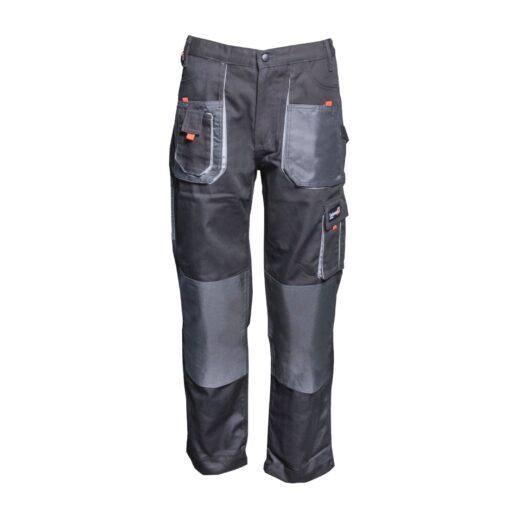 Spodnie robocze GALMAG WH290 do pasa ochronne robocze w pas bhp sklep system internetowy odzież dla pracowników wytrzymałe z kieszeniami do pracy fizycznej mocne szare grafitowe