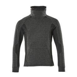 Sweter roboczy MASCOT 17584-319-09 do pracy ochronny bhp sklep system internetowy dla pracowników ciepły z kołnierzem stretch dopasowany premium czarny