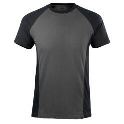 Koszulka robocza MASCOT Potsdam 50567-959 do pracy ochronna odzież robocza bhp sklep system internetowy dwukolorowa lekka dopasowana dla pracowników antracyt czarna