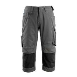 Spodnie robocze 3/4 MASCOT Altona 14149-442 do pracy robocze ochronne dla pracowników bhp sklep system internetowy rybaczki trzy czwarte za kolana ciemnoszare czarne antracyt szare