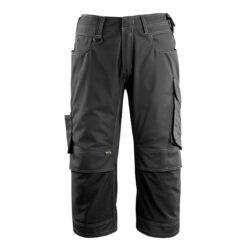 Spodnie robocze 3/4 MASCOT Altona 14249-442 do pracy robocze ochronne dla pracowników bhp sklep system internetowy rybaczki trzy czwarte za kolana czarne