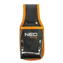 Kieszeń na narzędzia NEO TOOLS 84-332 monterska dekarska wytrzymała z uchwytem odzież robocza cordura bhp sklep system internetowy czarna pomaranczowa